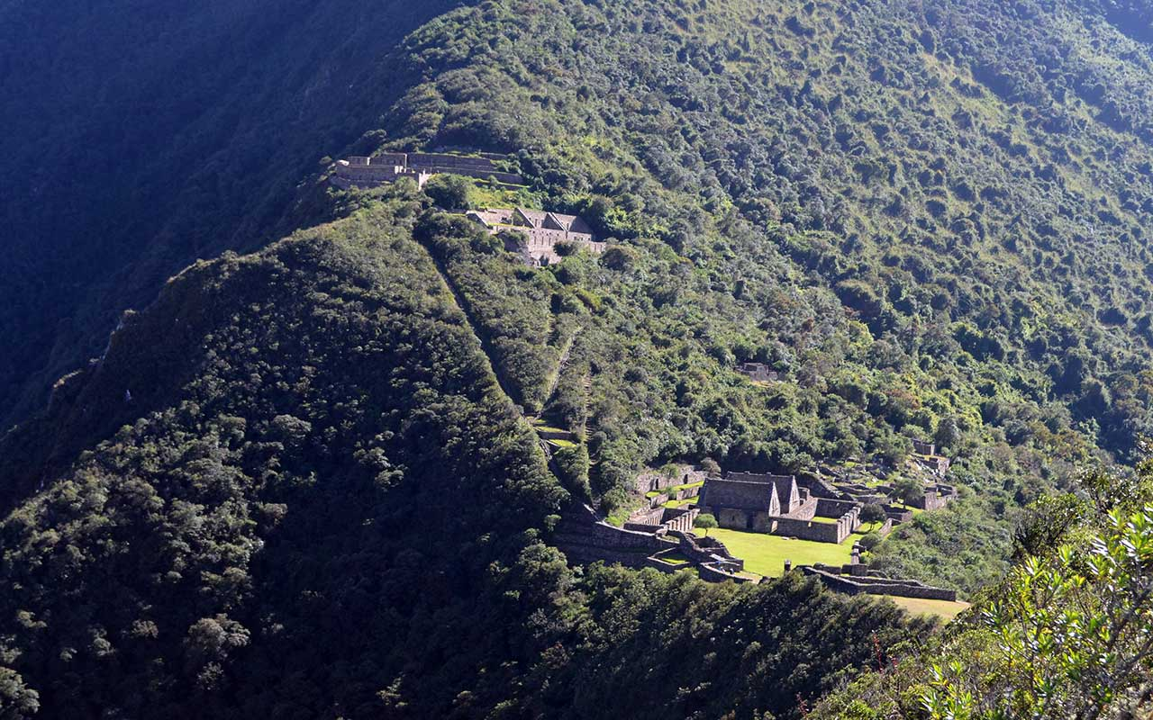 Choquequirao Trek 4 days - Arqueological Complex