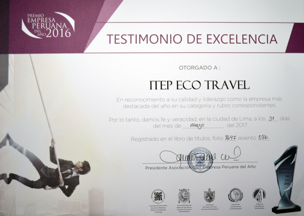 Premio Empresa Peruana 2016