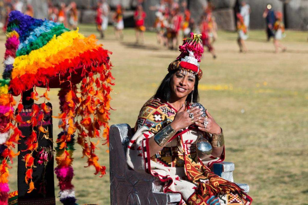 Inti Raymi - Coya - Inca Queen