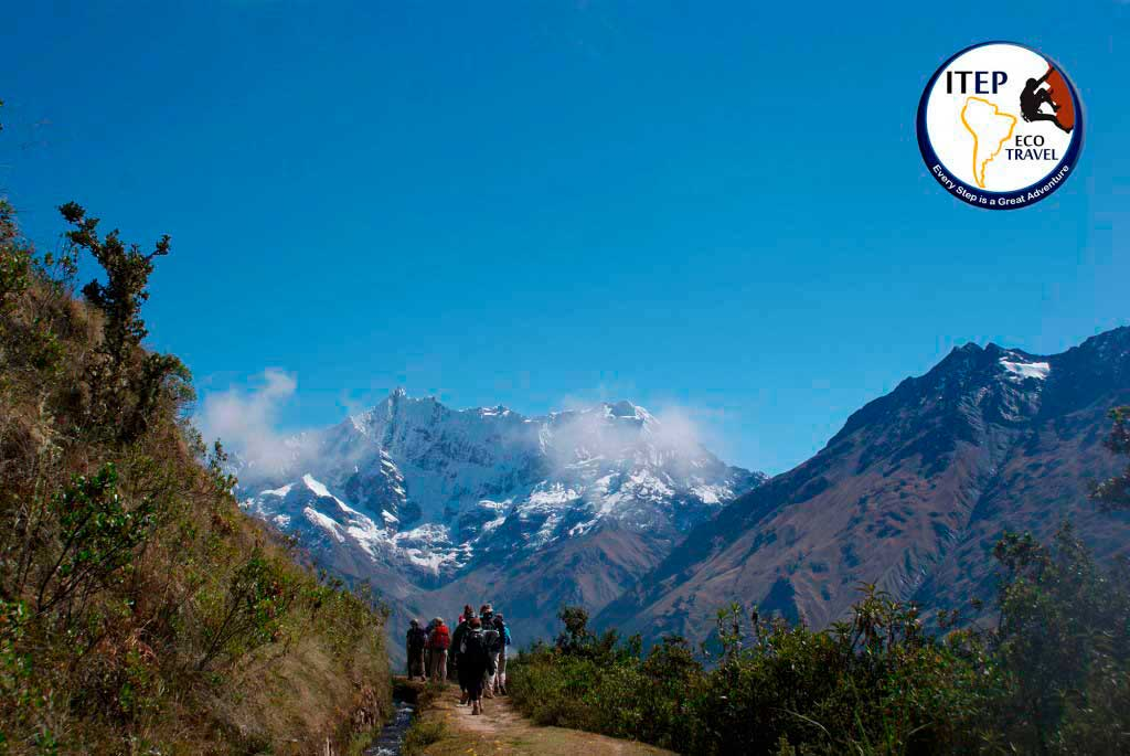 View of Humantay Mountain - Classic Salkantay Trek to Machu Picchu in 5 days