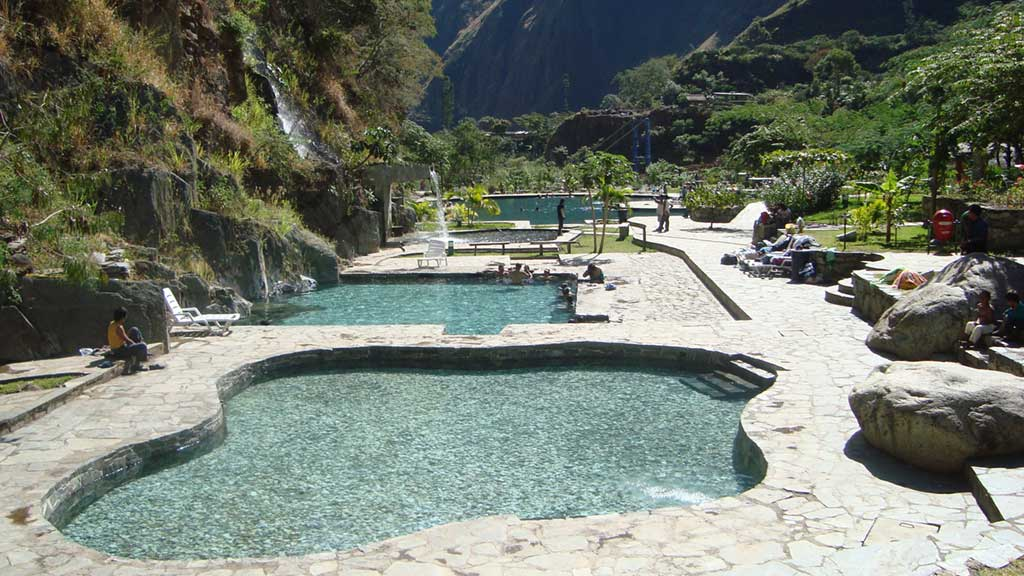Hot springs of Cocalmayo