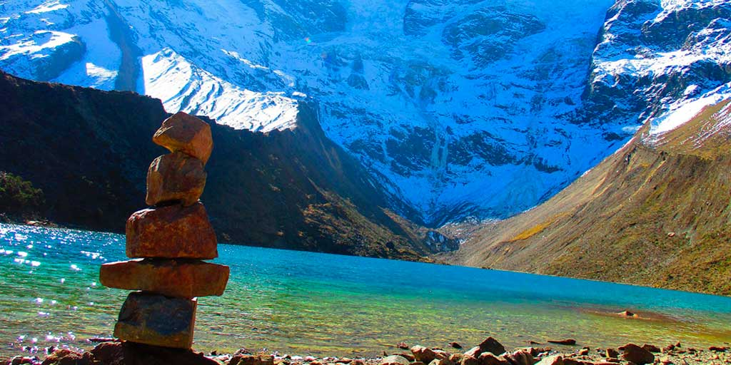 Humantay Lake - leave offerings to the Pachamama