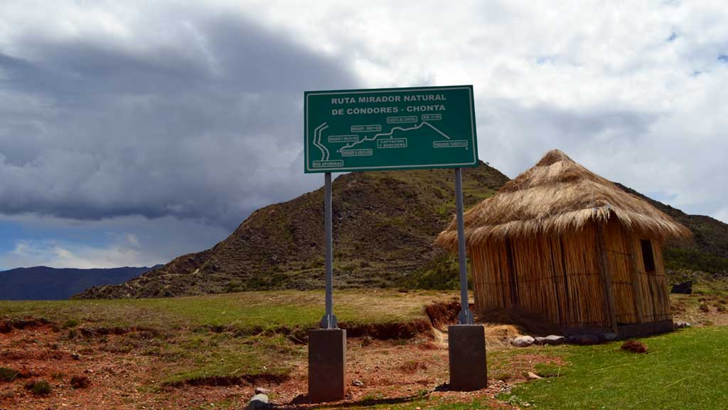 Route to Chonta Canyon