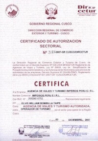 Itep Travel certifications