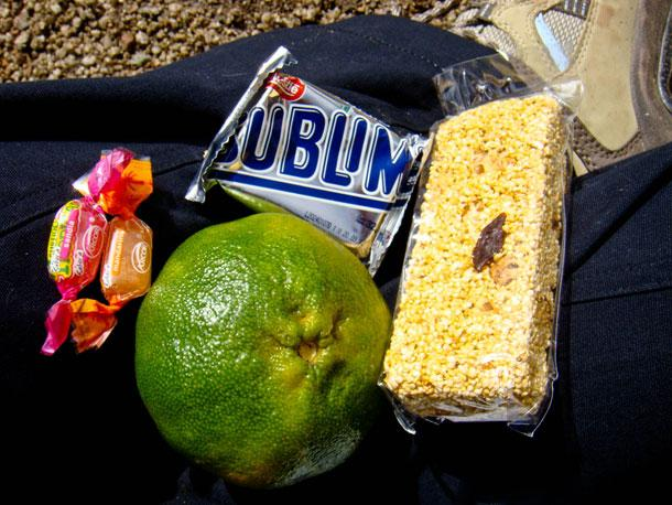 Our snack pack on Salkantay Trek