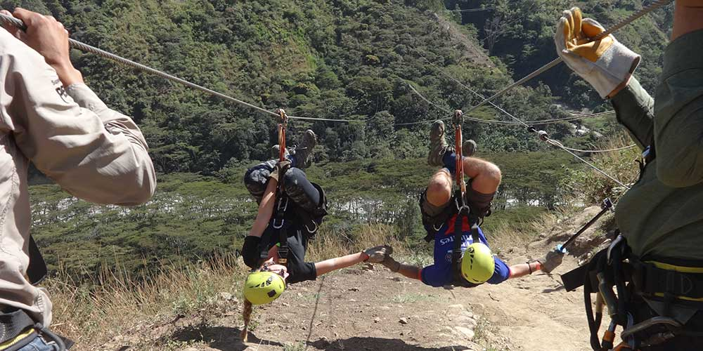 Inca Jungle Trek in 4 days - Ziplining - Canopy - Cola de Mono