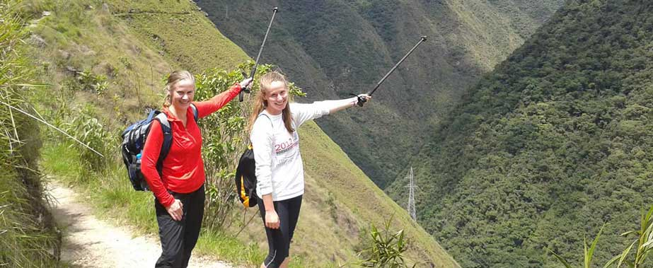 Inca Trail 2 days - Trekking to Machu Picchu