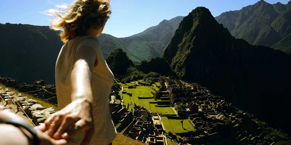 Let's go to Machu Picchu