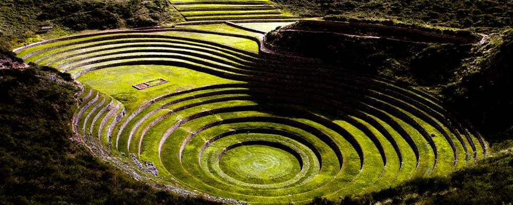 Moray - Inka center of Agricultural experiment