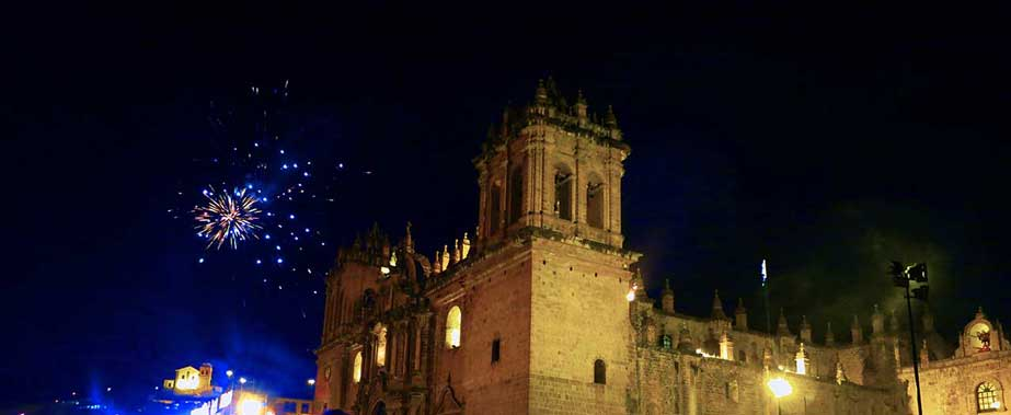New Year in Cusco - Main Square