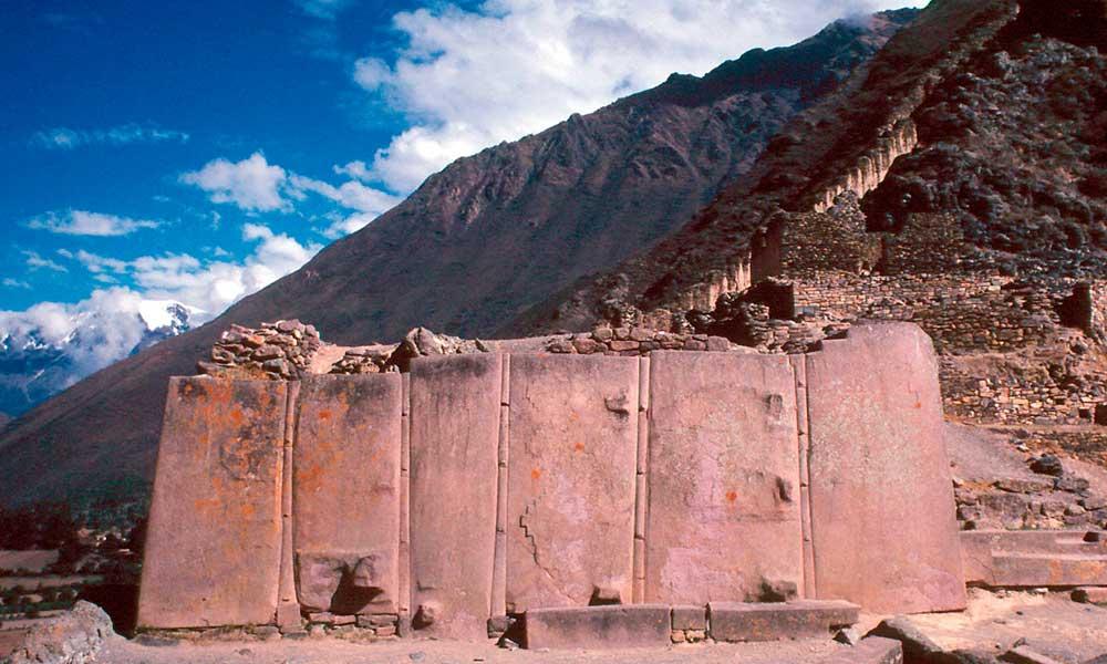 Ollantaytambo Monolithen - Sacred Valley Tour