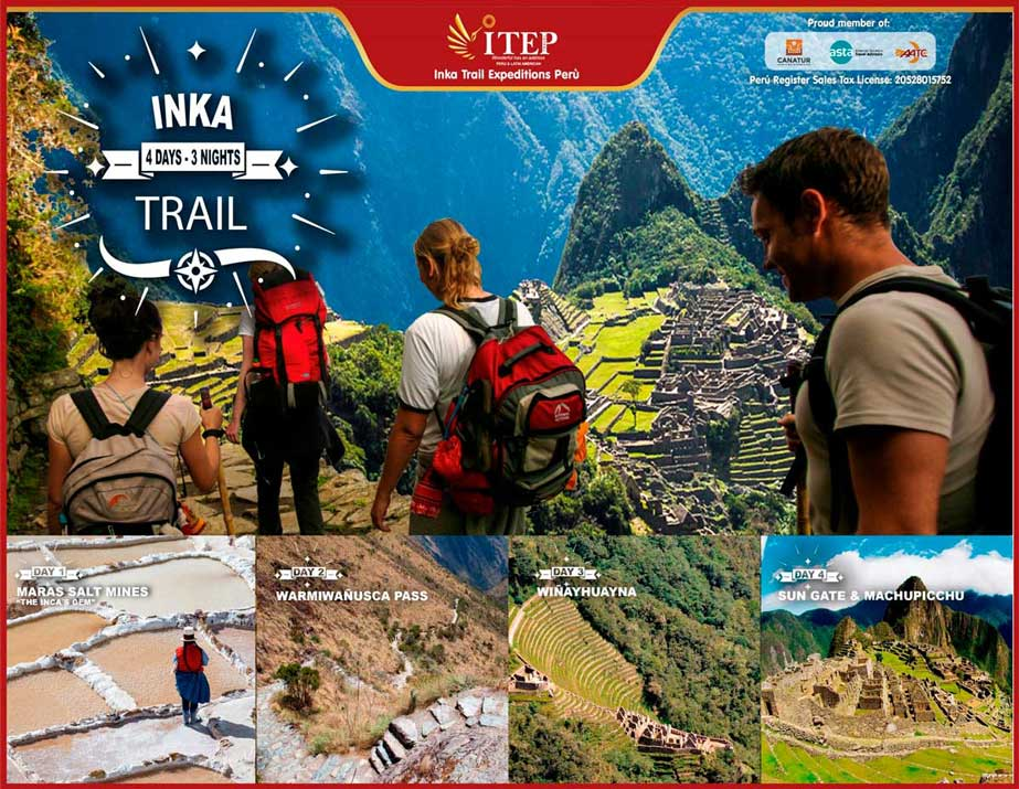 "Day 1: Transfer by ITEP Van from Cusco to Km 82 ""Inca Trail Entrance"""
